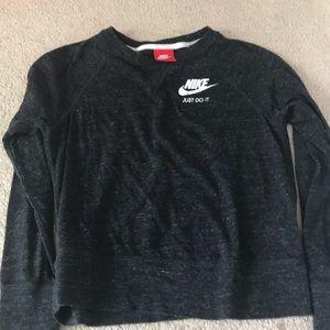 Nike Warmup top in Black